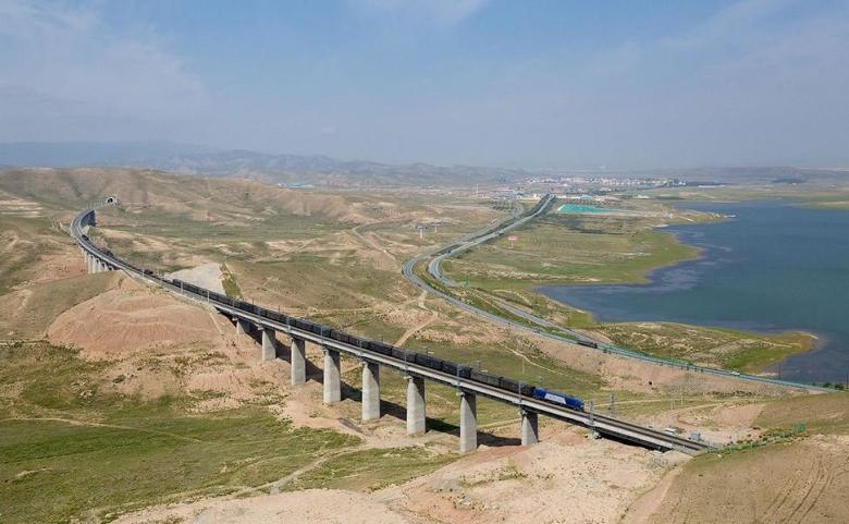 Tibet Lhasa Bahn