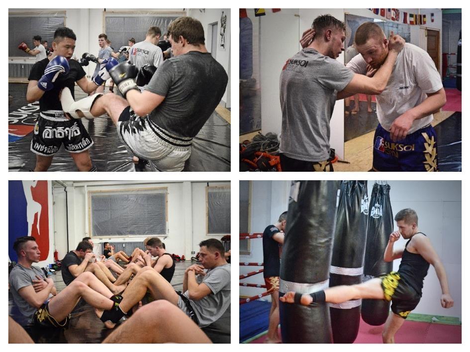 Collage Suksoi Gym Aachen
