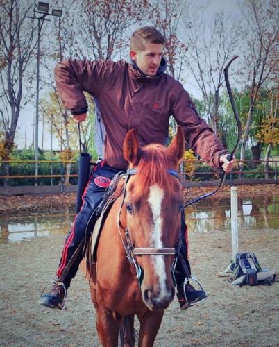 Bogenschießen Pferd