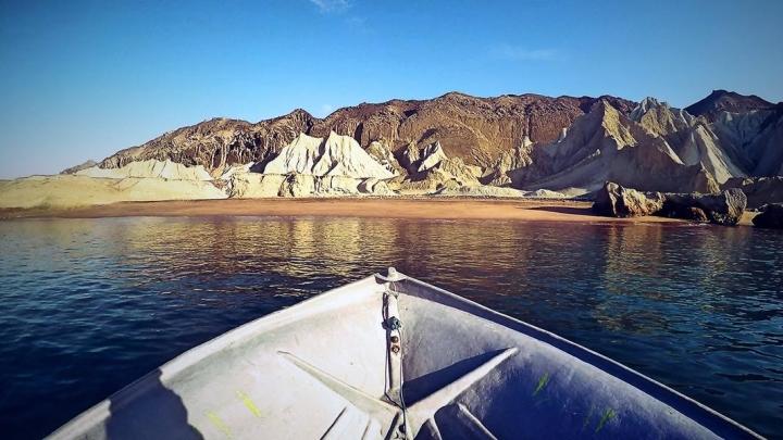 Boot vor Hormuz
