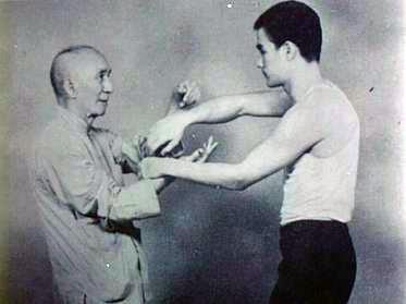 Ip Man und Bruce Lee