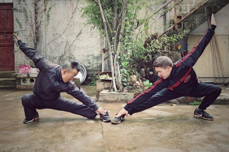 Kung Fu Übung