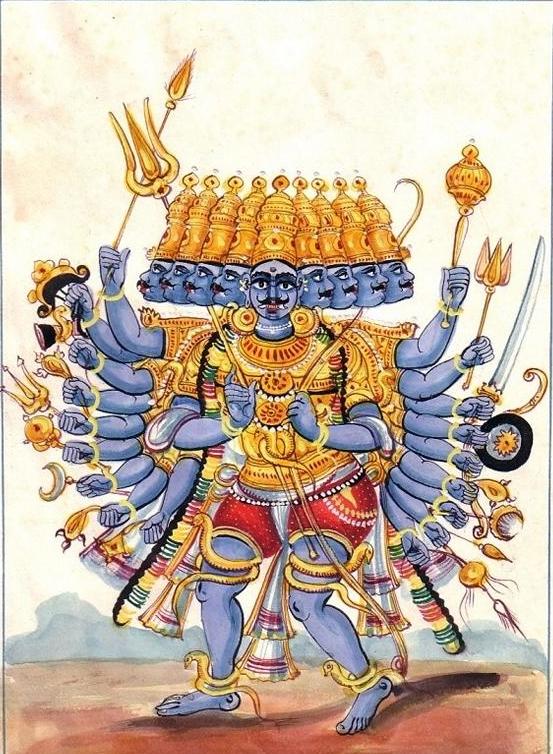 Dämonenkönig Ravana