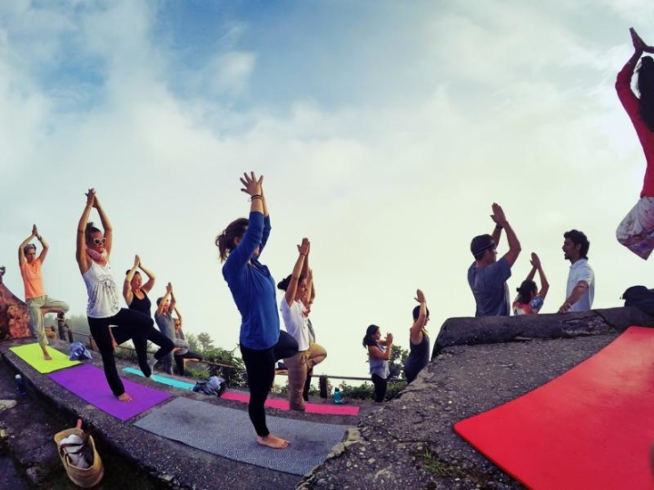 Yoga Sarangkot