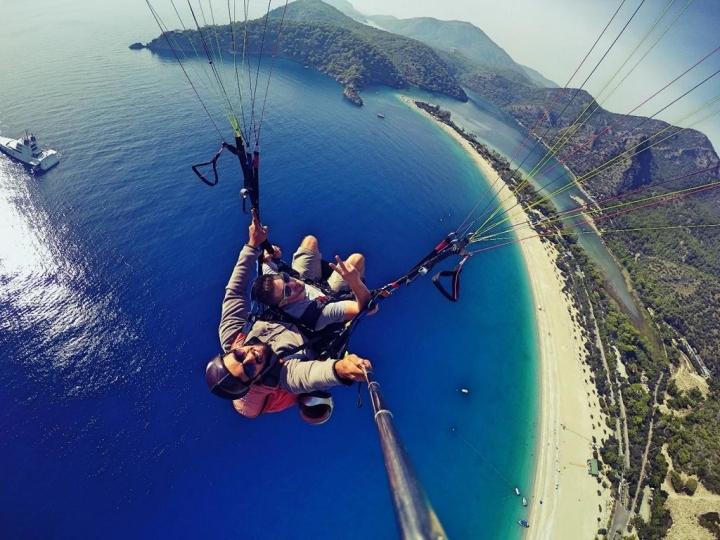Paragliden Türkei