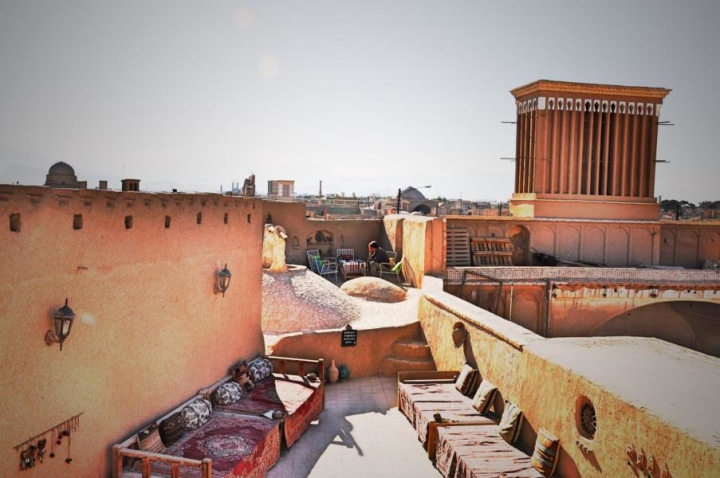 Dachcafe Yazd