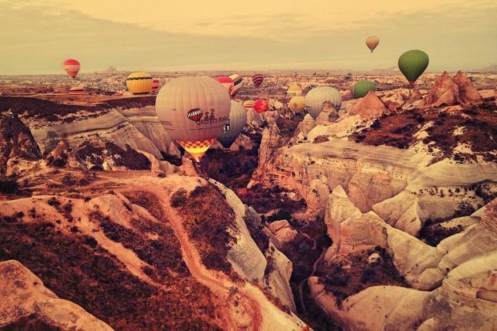 Kappadokien Heißluftballon