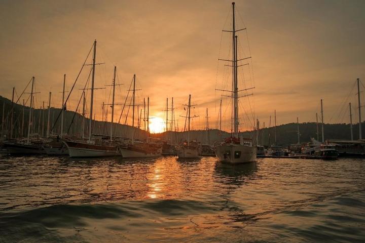 Fethiye Hafen