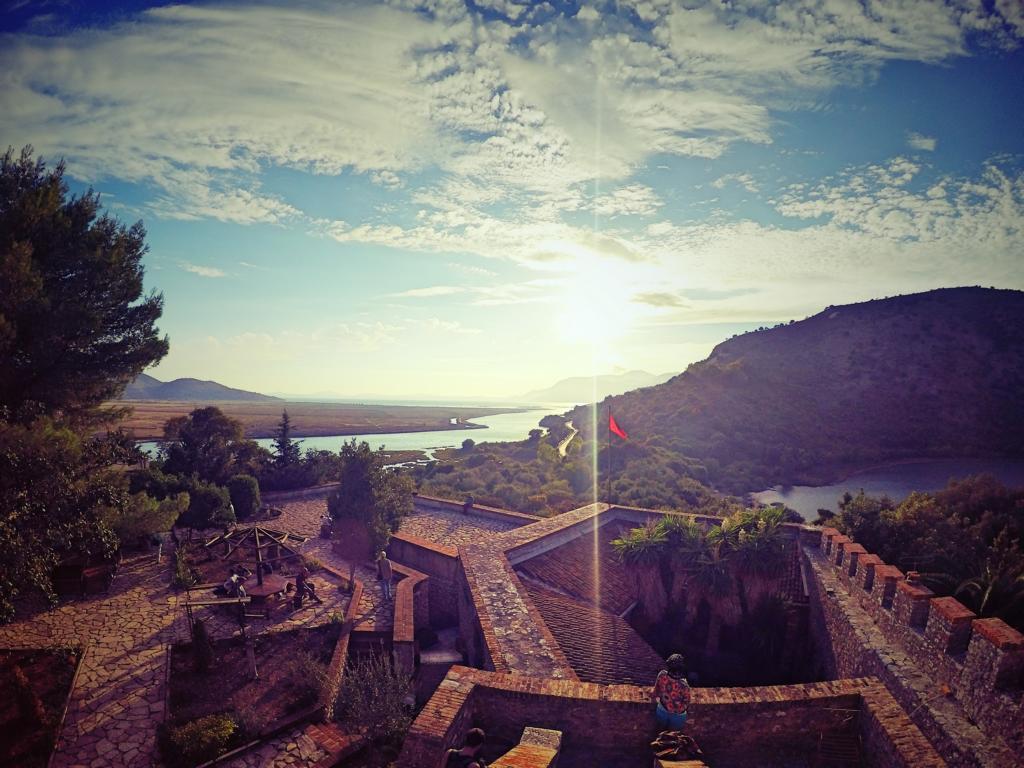 Aussicht Butrint Burg