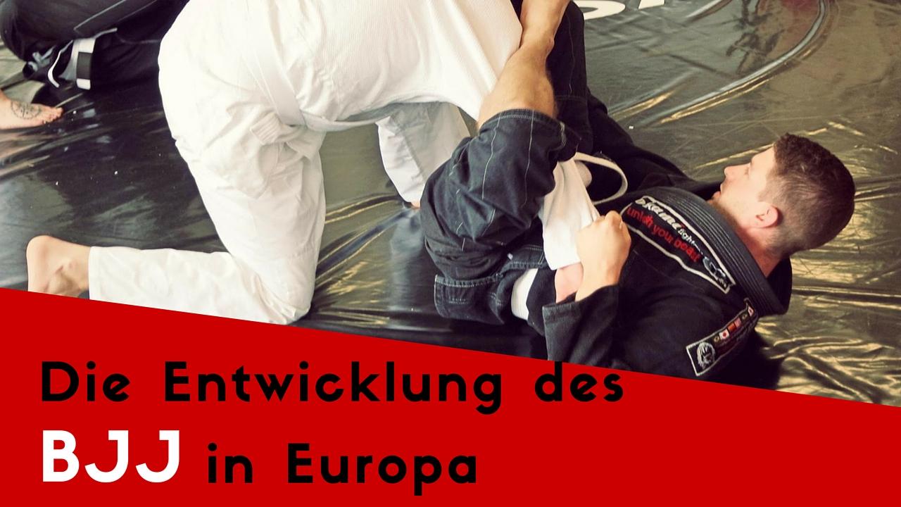 Brazilian Jiu Jitsu in Europa