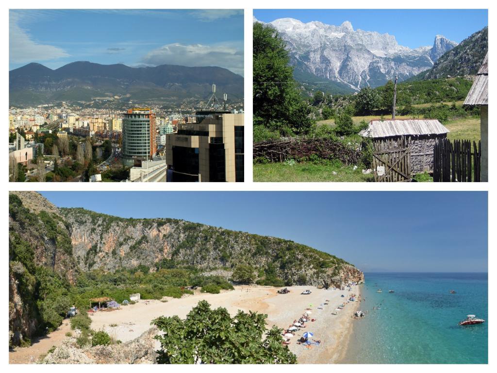 Collage Albanien
